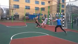 Занятия секции футбола -1