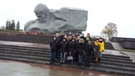 На экскурсии в Брестской крепости